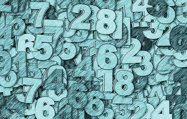 Картинка счёт, числа, чифры