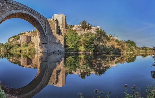 Картинка Испания, Толедо, Toledo, Puente de Alcantara