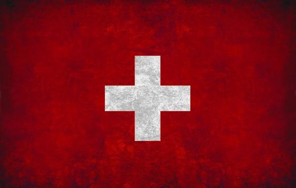Картинка крест, флаг, red, швейцария, cross, fon, flag, switzerland