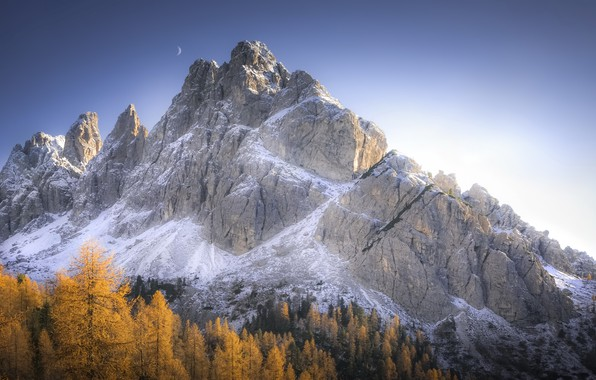 Картинка осень, горы, природа