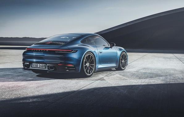 Картинка Авто, Черный, Porsche, Машина, Porsche 911, Black, Carrera 4S, Porsche 911 Carrera 4S, by Umit ...