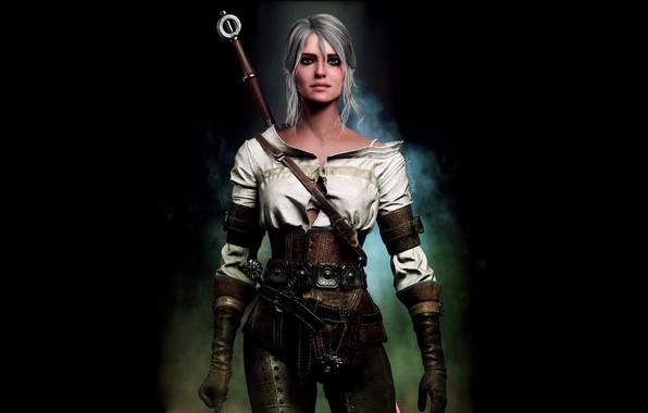 Картинка The Witcher 3 Wild Hunt, Ведьмак 3 Дикая Охота, Ласточка, Цири, Cirilla Fiona Elen Riannon, …