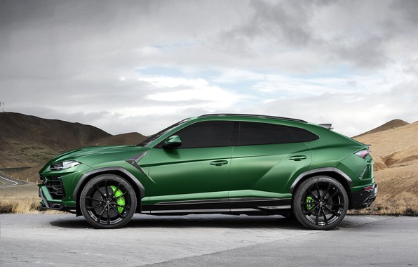 Картинка Lamborghini, вид сбоку, 2018, TopCar, Urus