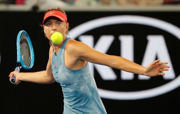 Картинка Girl, Maria Sharapova, Woman, Sport, Maria, Russian, Tennis, Sharapova, WTA, Australia Open 2019