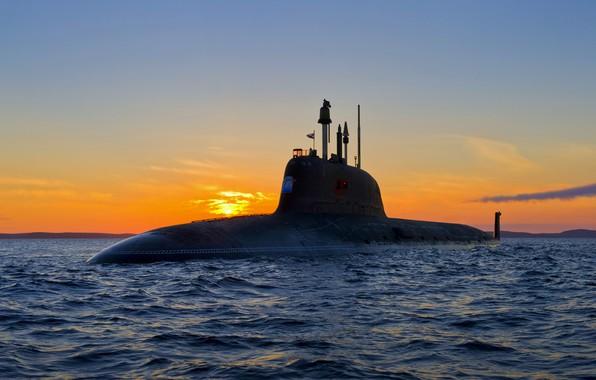 Картинка лодка, подводная, атомная, проект 885, северодвинск
