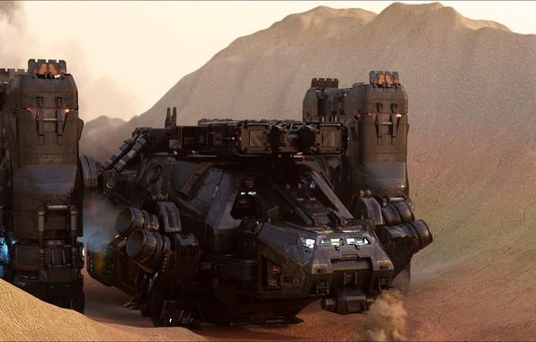 Картинка fantastic, Mars, other technics