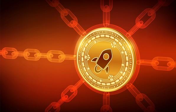 Картинка fon, chain, stellar, cryptocurrency, blockchain, стеллар, xlm