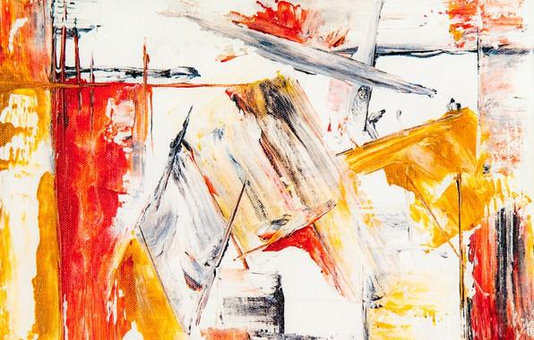 Картинка линии, абстракция, краска, мазки кисти, color texture