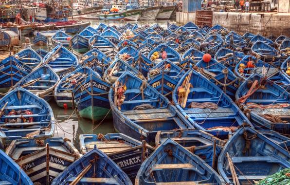 Картинка Africa, Morocco, Essaouira seaport