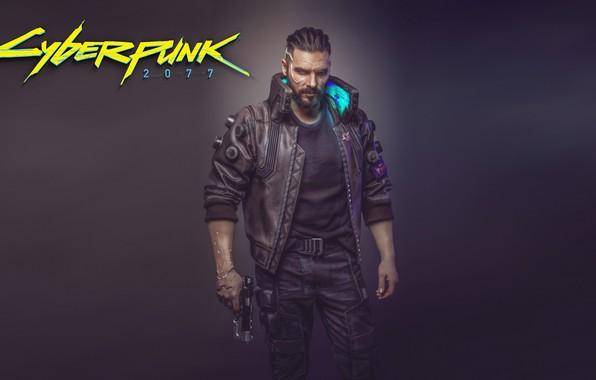 Картинка Игра, Арт, Мужчина, Киборг, CD Projekt RED, Cyberpunk 2077, Киберпанк, Cyberpunk, Киберпанк 2077, Киборги, 2077, ...