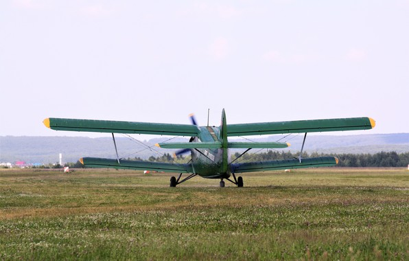Картинка Аэродром, Самолёт, Ан-2, Кукурузник, Аннушка, руление