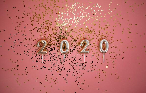 Картинка фон, Новый год, 2020