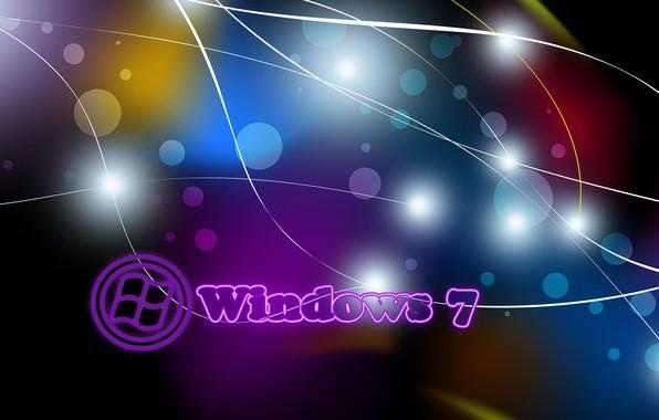 Картинка линии, фото, windows 7