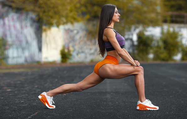 Картинка sexy girl, exercise, sports, workout, fitness, hot babe, pilates, activewear