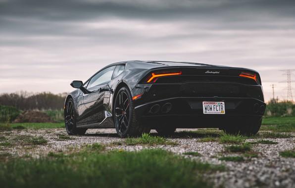Картинка Lamborghini, Ламборгини, Споркар, Huracan, Lamborghini Huracan, Хуракан