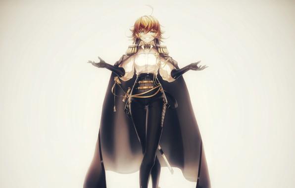 Картинка аниме, anime, art, таня, tanya, аниме девушка, tanya degurechaff, youjo senki, 21x9, The Saga of …