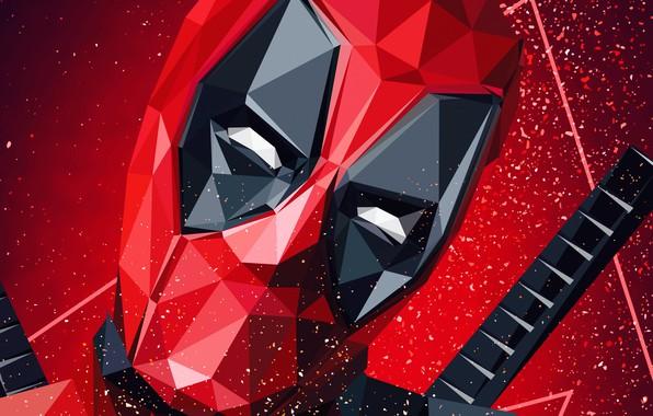 Картинка Superheroes, Deadpool, Marvel, Artwork