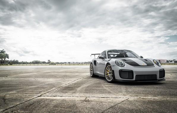 Картинка Porsche, GT2, Silver, VAG, Sight