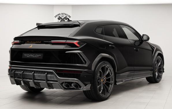 Картинка Lamborghini, вид сзади, 2018, TopCar, Urus