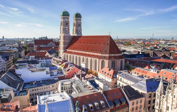 Картинка Германия, Мюнхен, Бавария, Frauenkirche