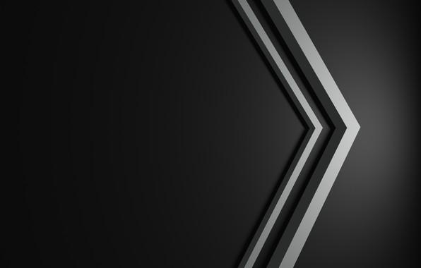 Картинка minimalism, line, black background