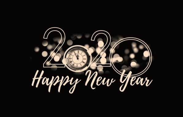 Картинка Новый год, календарь, крыса, 2020