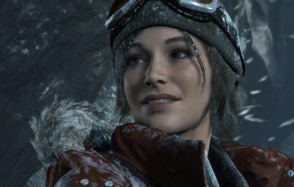 Картинка Снег, Lara Croft, Rise Of The Tomb Raider