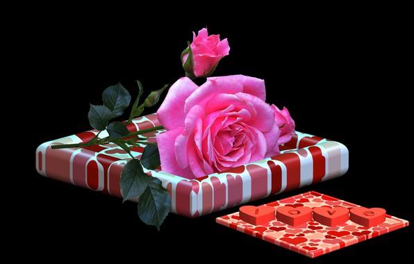 Картинка любовь, роза, признание