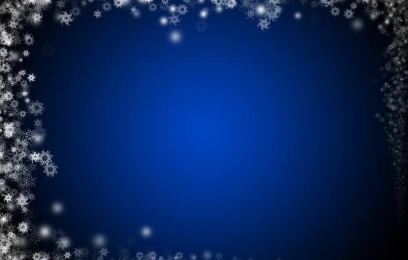 Картинка снежинки, дизайн, фон, рождество, украшение, красивый