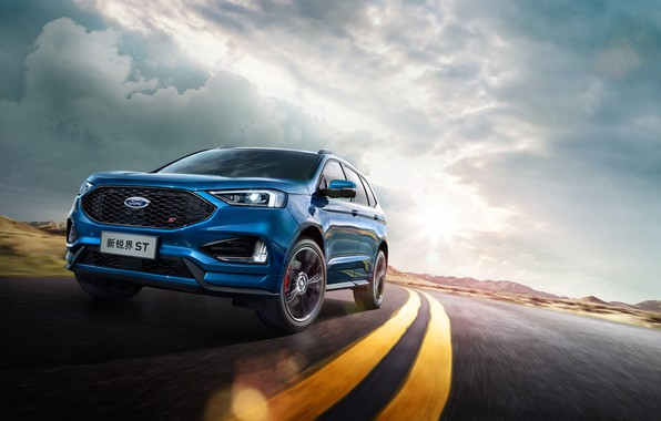 Картинка Ford, Ford ST, Ford Edge ST China
