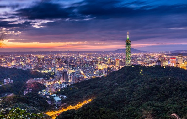Картинка Китай, Тайвань, Тайбэй