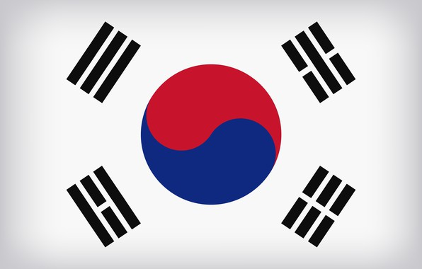 Картинка South Korea, Flag, Flag Of South Korea, South Korea Large Flag, South Korean Flag