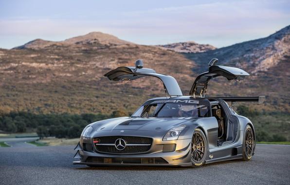 Картинка Mercedes, Benz, GT3, Amg, Mercedes Benz Amg GT3