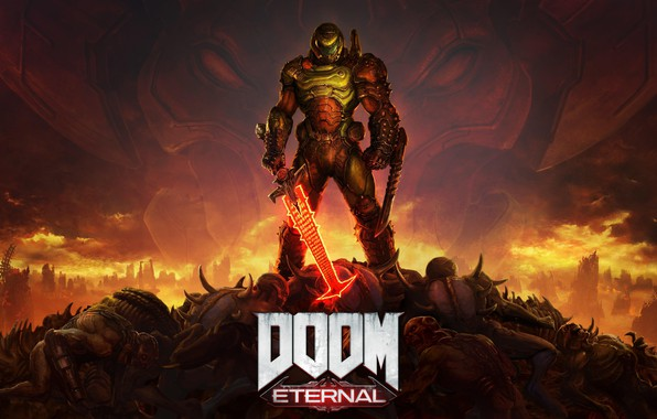 Картинка Игра, Hell, Марс, Game, Hardcore, Bethesda Softworks, Дум, id Software, Палач Рока, Doom Eternal