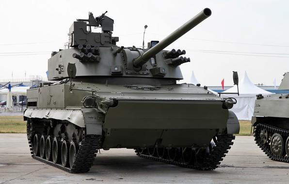 """Картинка система, Самоходная, """"Вена""""., артиллерийско-минометная"""