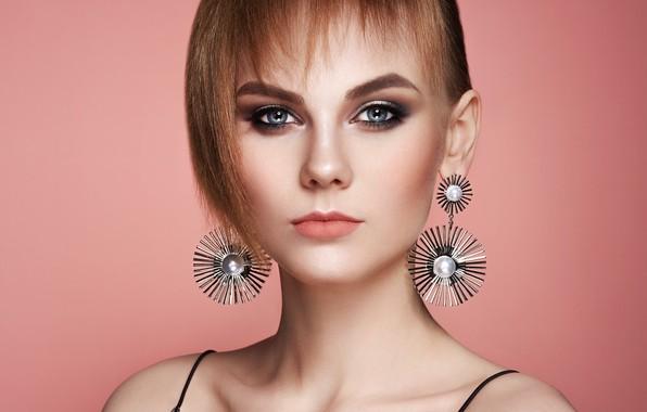 Картинка девушка, стиль, модель, стрижка, макияж, прическа, фотограф Oleg Gekman