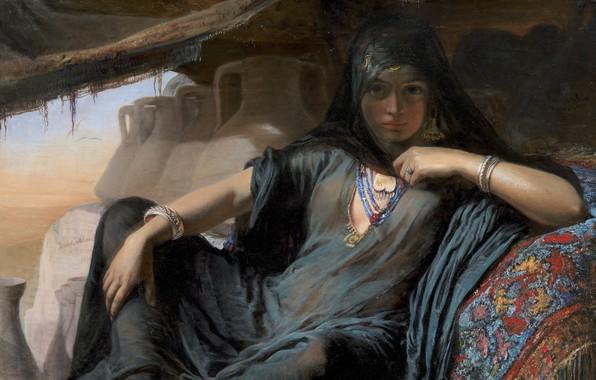 Картинка Danish painter, oil on canvas, Государственный музей искусств Копенгаген, National Gallery of Denmark, датская художница, …