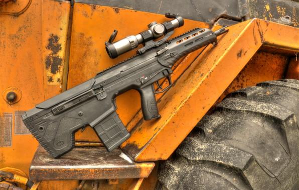 Картинка оружие, weapon, буллпап, штурмовая винтовка, assault Rifle, bullpup, Desert Tech, Десерт Тэч, Deserttech, MDR