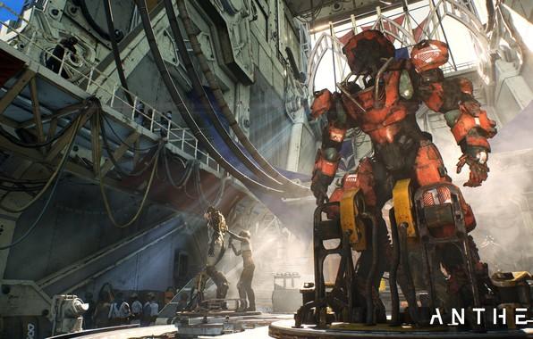 Картинка робот, Game, Electronic Arts, Anthem