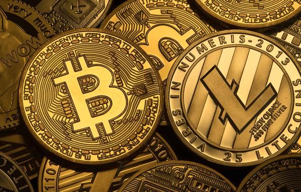 Картинка лого, монеты, coins, bitcoin, биткоин, litecoin, лайткоин
