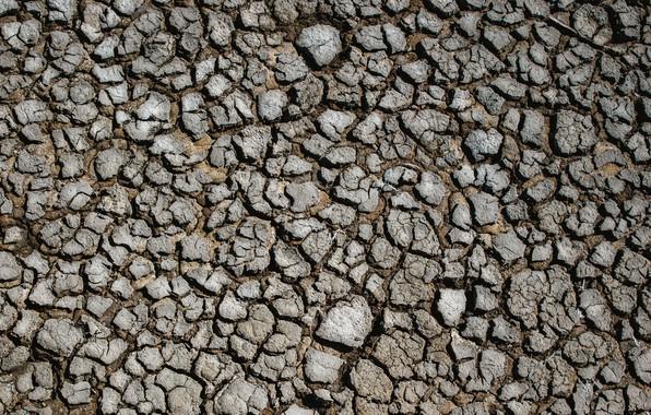 Картинка поверхность, трещины, земля, засуха, land, drought, surface, cracks