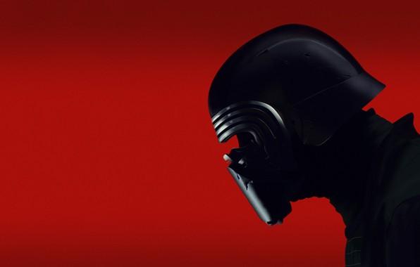 Картинка Star Wars, Меч, Fantasy, Art, Световой Меч, Ситх, Mask, Characters, Kylo Ren, by Jeremy Stone, …