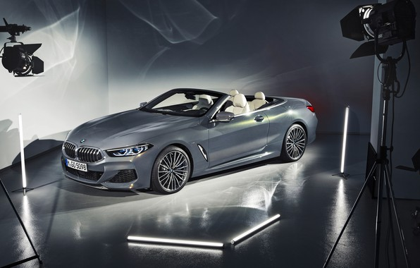 Картинка BMW, кабриолет, 2018, Cabrio, xDrive, 8-Series, M850i