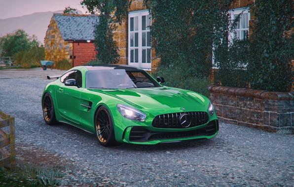 Картинка Mercedes-Benz, Microsoft, game, AMG, GT R, Forza Horizon 4
