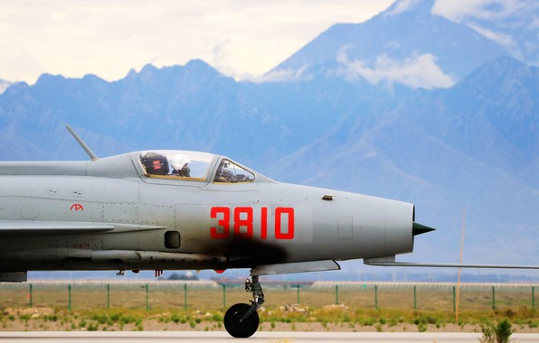 Картинка fighter, airplane, aviation, Chinese, J-7, mig-21