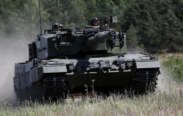 Картинка Танк, Germany, Deutschland, Leopard 2A4, Bundeswehr, Танковые Войска
