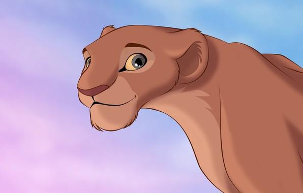 Картинка рисунок, лев, мультфильмы, львица, Король Лев, мультики, The Lion King, Нала, Nala