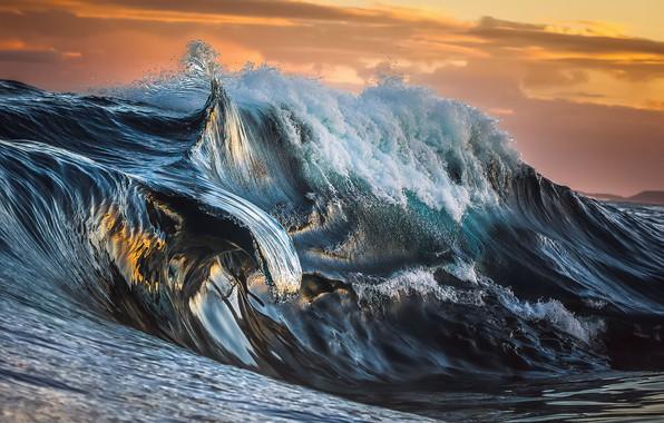 Картинка море, волны, небо, вода, облака, природа, океан
