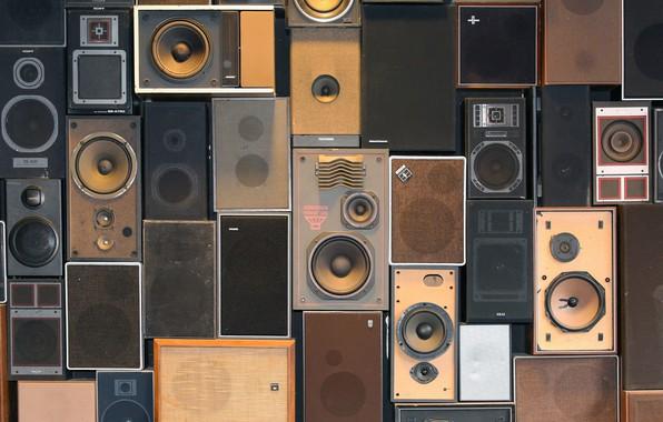 Картинка звук, колонки, аудио, акустика, музыкальные