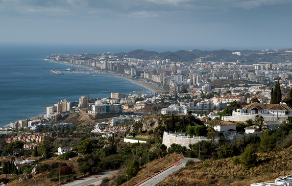 Картинка побережье, Испания, Andalusia, Fuengirola
